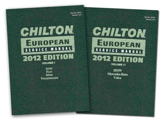 Chilton European Service Manual By Chilton Book Company (COR)